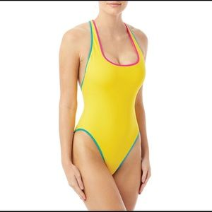 Coco Rave Max High Leg One Piece Swimsuit